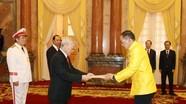 Tổng Bí thư, Chủ tịch nước Nguyễn Phú Trọng tiếp 10 đại sứ trình Quốc thư