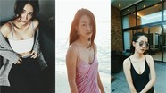 """Vẻ đẹp cuốn hút """"vạn người mê"""" của MC Quỳnh Chi"""