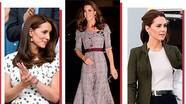 Thời trang thanh lịch, sang trọng của Công nương Kate năm 2018