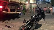 Tài xế ôtô chạy ẩu húc 6 xe máy bị bắt