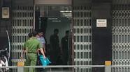 Hai thanh niên dùng súng cướp ngân hàng