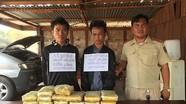 Hai người Lào mang súng, vận chuyển 118.000 viên ma túy