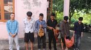 Nhóm 6 đối tượng trộm cắp liên huyện ở Nghệ An sa lưới
