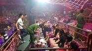 Cảnh sát phát hiện 100 người chơi ma túy trong quán bar lúc rạng sáng