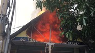 Cửa hàng bán bánh canh cá lóc tại thành phố Vinh bất ngờ bốc cháy