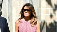 Đệ nhất phu nhân Mỹ Melania Trump nổi bật với loạt váy áo nghìn đô la