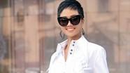Hoa hậu H'Hen Niê thả dáng giữa phố với trang phục streetstyle độc đáo