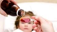 Lạm dụng sirô trị ho có thể dẫn đến tử vong ở trẻ nhỏ