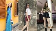 Phong cách thời trang đời thường của hoa hậu Tiểu Vy và 2 Á hậu