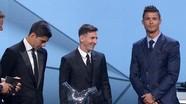 "Trao The Best 2018: Ronaldo bỏ, Messi ""cứu"" FIFA"