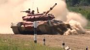 T-72B3 đứt xích tại giải đua xe tăng quốc tế