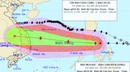 Bão Molave tăng cấp, hướng thẳng vào Biển Đông