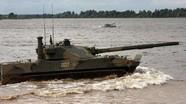 Việt Nam quan tâm pháo mạnh ngang T-90