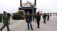 Việt Nam bắt đầu tiếp nhận xe tăng T-90?