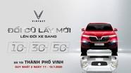VinFast tổ chức sự kiện 'Đổi cũ lấy mới - lên đời xe sang' tại thành phố Vinh
