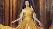 Mỹ nhân Cao Bằng chân dài 1m22 mặc váy xẻ cao đẹp tựa nữ thần