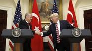 Donald Trump và Tayyip Erdogan đồng ý phản đối chủ nghĩa khủng bố