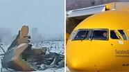 Những hình ảnh đầu tiên về hiện trường rơi máy bay Nga