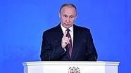 Cương lĩnh tranh cử của Tổng thống Nga Putin qua Thông điệp liên bang