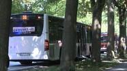Đâm dao trên xe buýt Đức, 14 người bị thương