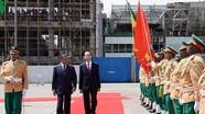 Tổng thống Ethiopia chủ trì lễ đón và Hội đàm với Chủ tịch nước Trần Đại Quang