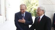 Tổng thống Putin: Đàm phán với Tổng Bí thư ĐCS VN diễn ra trong bầu không khí thân thiện