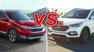 Honda CR-V và Hyundai SantaFe: chọn Crossover 7 chỗ nào cho gia đình?