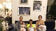Bạn gái không muốn sinh thêm, còn C. Ronaldo muốn có 7 đứa con