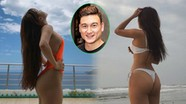 Khoe bikini nóng bỏng, bạn gái Đặng Văn Lâm 'đốt mắt' người xem