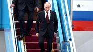 Tổng thống Nga Putin tới Trung Quốc dự 'Một vành đai và Một con đường'