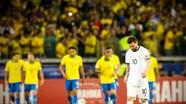 Gục ngã trước Brazil, Argentina và Messi tiếp tục lỡ hẹn cúp Copa America