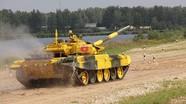 Đội xe tăng Việt Nam nhất bảng trong ngày đầu đua ở Nga
