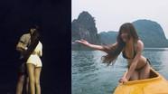 Văn Lâm đưa bạn gái đi biển sau trận đấu với tuyển Thái Lan