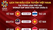 Lịch thi đấu thuận lợi cho tuyển Việt Nam; Truyền thông Thái Lan khó chịu khi xếp sau
