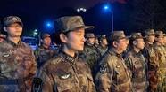 Điều 450 quân y đến Vũ Hán, cho thấy mức độ nguy hiểm của dịch viêm phổi ở Trung Quốc