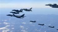 Hàn Quốc và Mỹ tập trận chung trên không