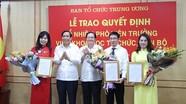 Ba người được bổ nhiệm vụ phó Ban Tổ chức Trung ương qua thi tuyển