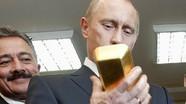 Vàng chiếm 23% tổng dự trữ ngoại hối của Nga