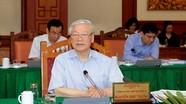 Thông cáo báo chí về các cuộc làm việc của Bộ Chính trị  với các đảng bộ trực thuộc Trung ương