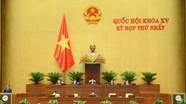 Hôm nay Quốc hội xem xét cơ cấu tổ chức Chính phủ nhiệm kỳ mới