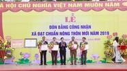 Xã Quỳnh Vinh (TX. Hoàng Mai) đón Bằng công nhận đạt chuẩn Nông thôn mới