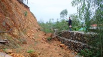 Chi tiết 33 điểm thường xuyên sạt lở khi mưa lớn trên địa bàn Nghệ An