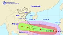 Nghệ An ra công điện ứng phó với bão số 9