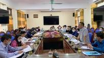 Đoàn giám sát của HĐND tỉnh làm việc với Sở Nông nghiệp và PTNT