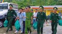 Xe khách chở 32 kg ma túy đá bị bắt ở biển Thiên Cầm