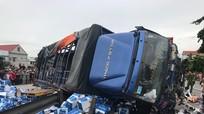 Khởi tố vụ xe tải lật nghiêng đè chết 5 người ở Hải Dương