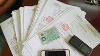 Bắt giữ 4 đối tượng làm giả giấy khám sức khỏe, bệnh án của các bệnh viện