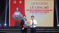 Trao quyết định bổ nhiệm Giám đốc Đài PT-TH Nghệ An