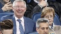 Vì sao Alex Ferguson có mặt trên khán đài trận Roma loại Barca