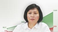 Bà Hồ Thị Kim Thoa muốn bán khối cổ phiếu 50 tỷ đồng